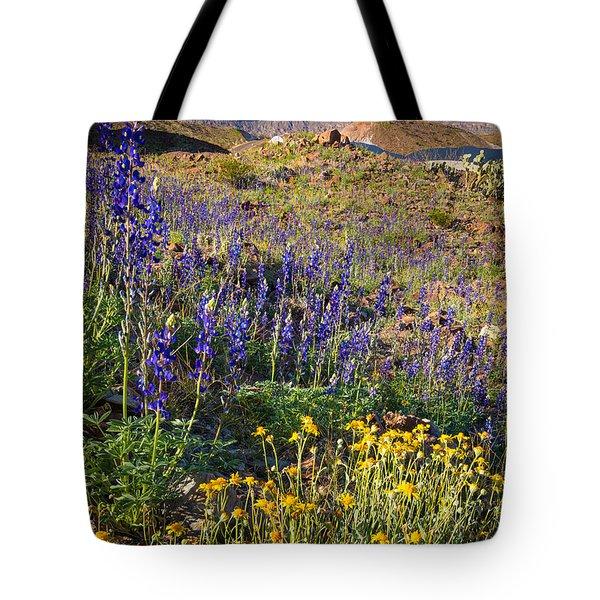 Big Bend Flowers Tote Bag