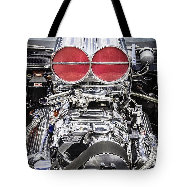 Big Big Block V8 Motor Tote Bag