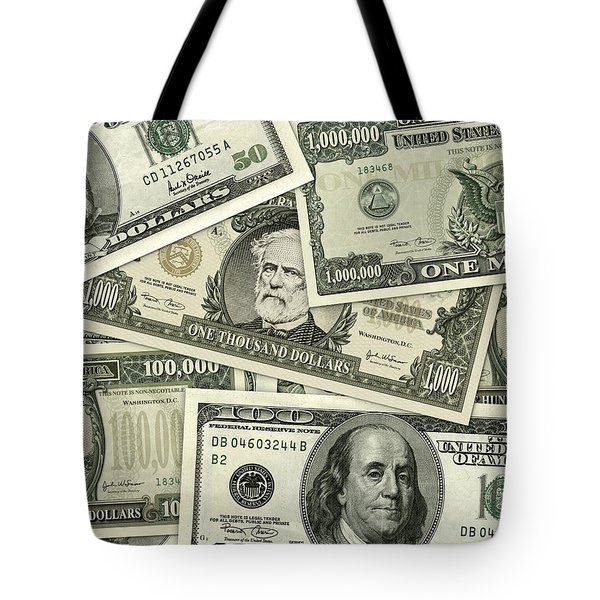 Big Bills Tote Bag