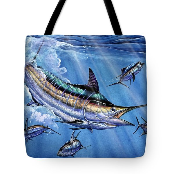 Big Blue And Tuna Tote Bag