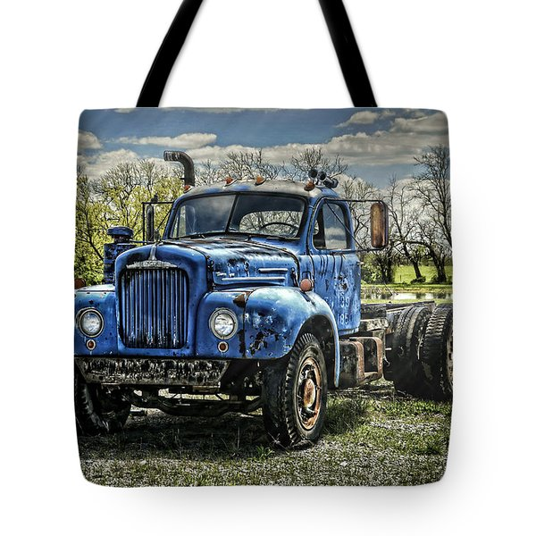 Big Blue Mack Tote Bag