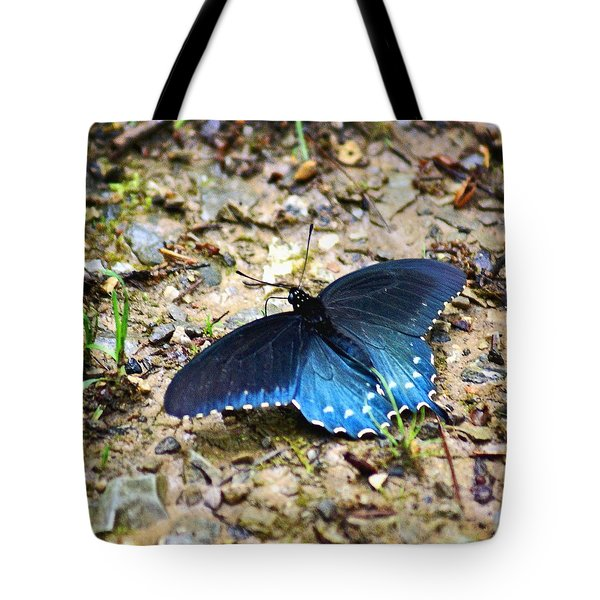 Big Blue Tote Bag by Marty Koch
