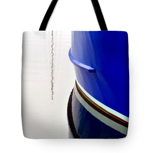 Tote Bag featuring the photograph Big Blue by Patricia Strand
