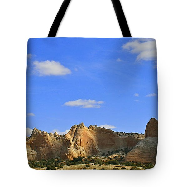 Big Blue Sky Tote Bag