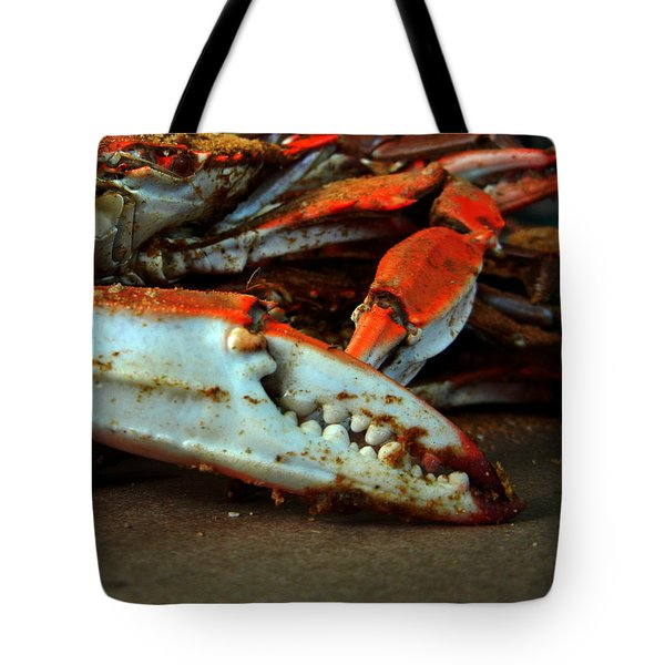 Big Crab Claw Tote Bag