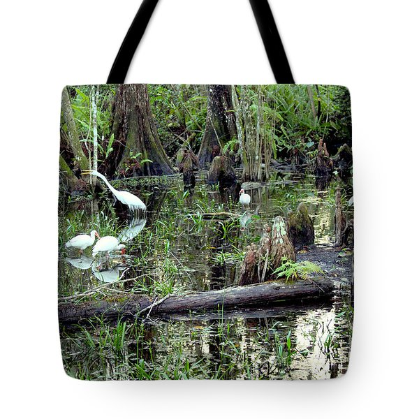 Big Cypress Tote Bag