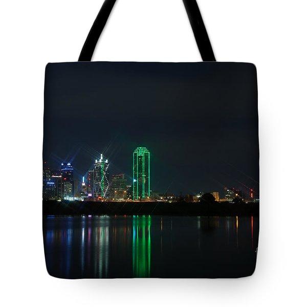 Big D Tote Bag by Charles Dobbs