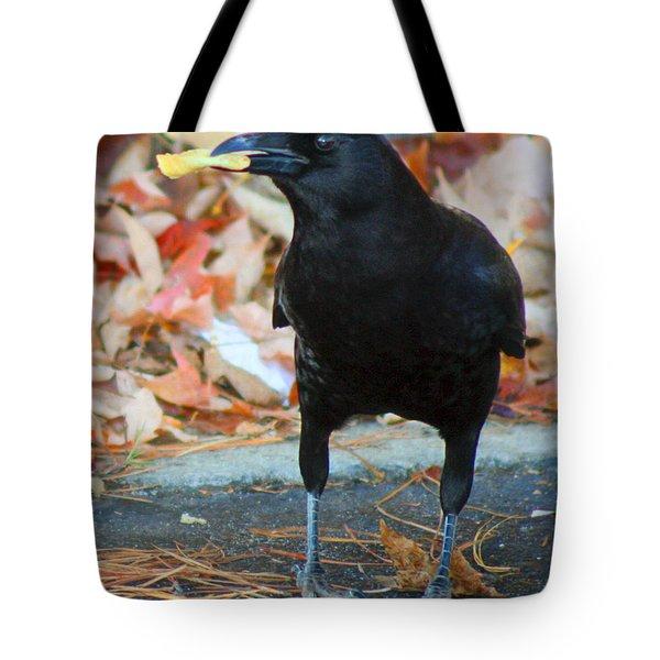 Big Daddy Crow Leaf Picker Tote Bag