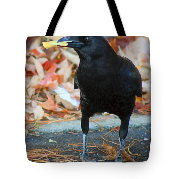 Big Daddy Crow Leaf Picker Tote Bag