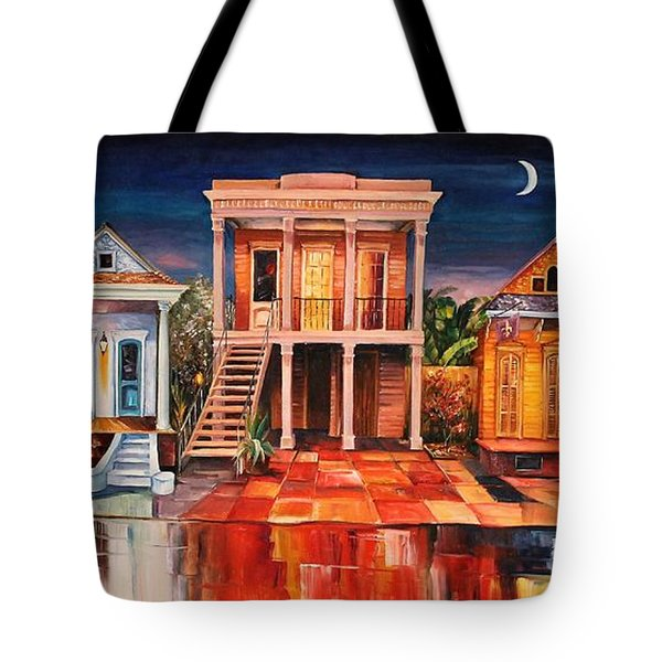 Big Easy Night Tote Bag by Diane Millsap
