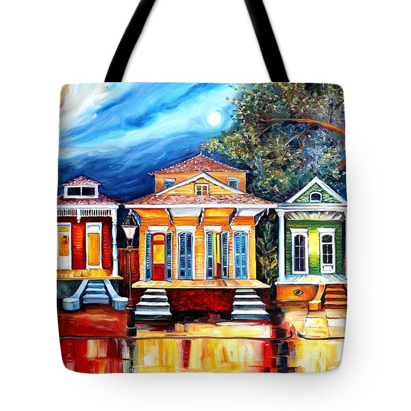 Big Easy Shotguns Tote Bag