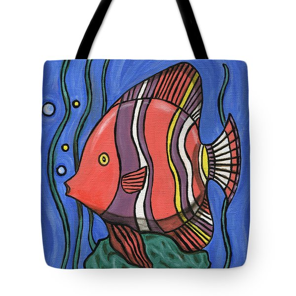 Big Fish Tote Bag
