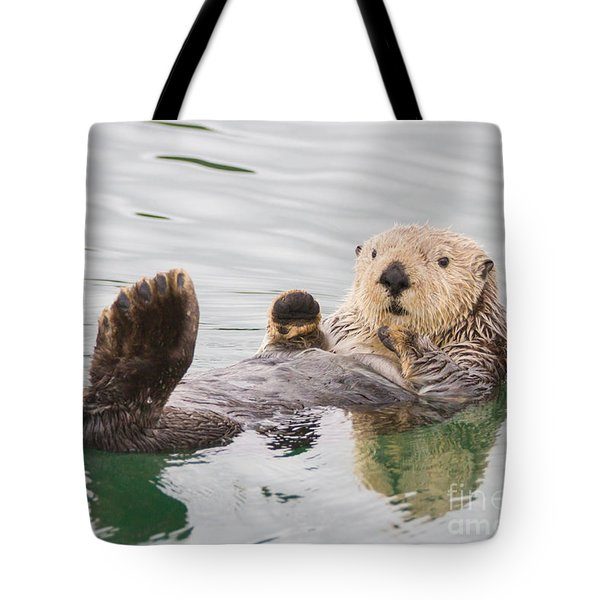 Big Foot Tote Bag by Chris Scroggins