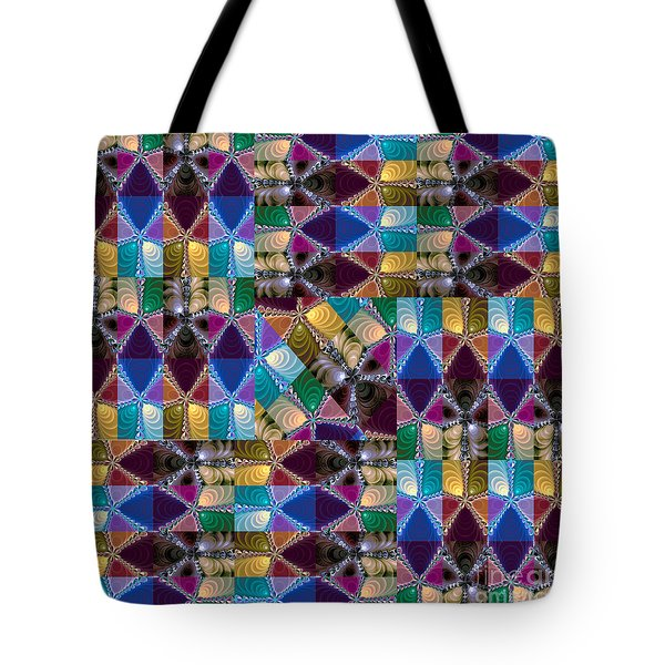 Tote Bag featuring the photograph Fractal Big Beauty I by Jack Torcello