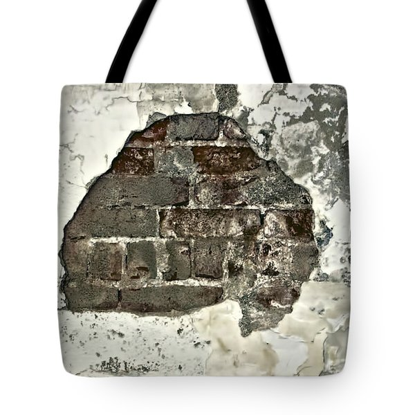 Big Hair Abstract Tote Bag