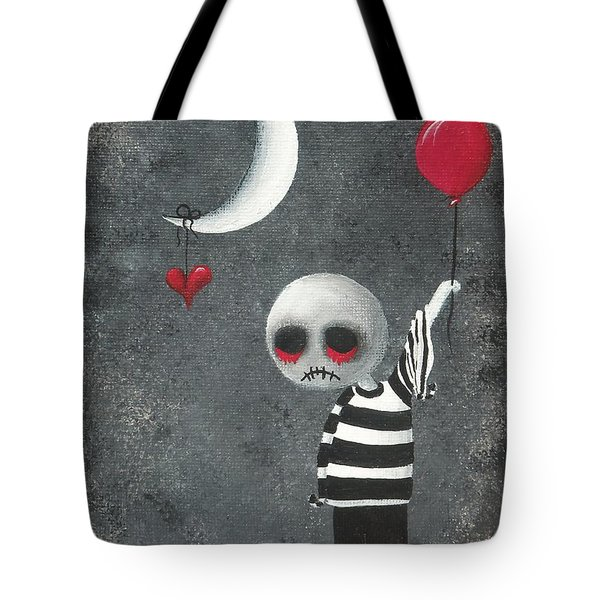 Big Juicy Tears Of Blood And Pain 4.1 Tote Bag by Oddball Art Co by Lizzy Love