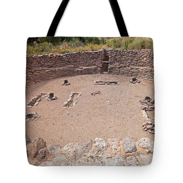 Big Kiva Bandelier National Monument Tote Bag
