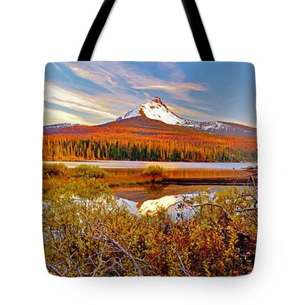 Big Lake And Mt Washington Oregon Tote Bag