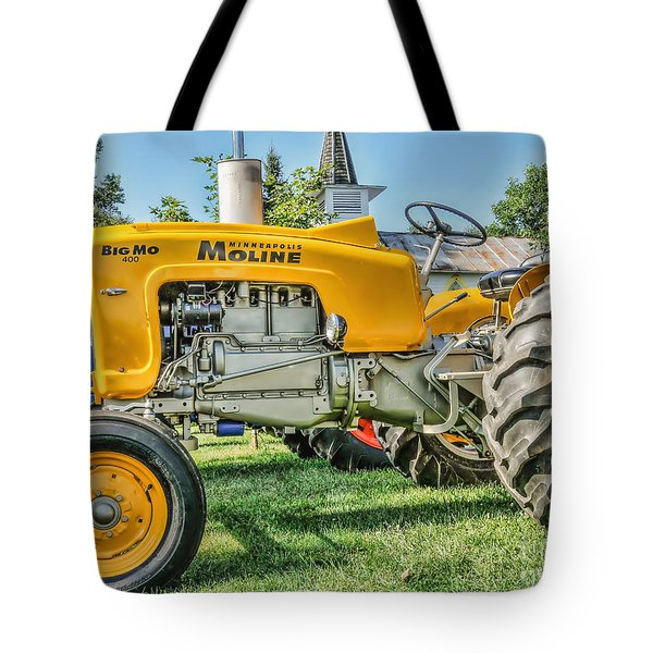 Tote Bag featuring the photograph Big Mo Minneapolis Moline by Trey Foerster