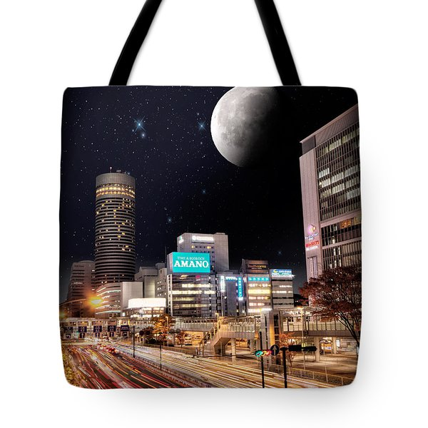 Big Moon Yokohama Tote Bag