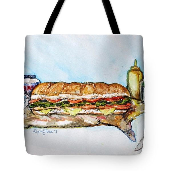 Big Ol Samich Tote Bag by Shana Rowe Jackson
