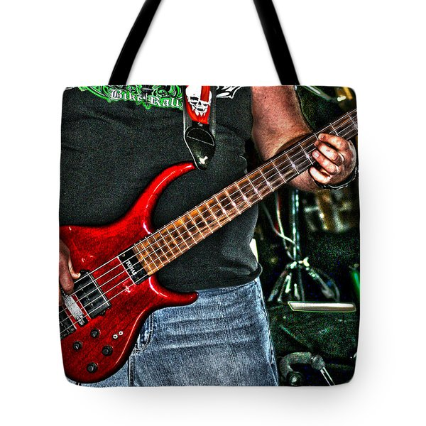 Tote Bag featuring the photograph Big Red Tobias by Lesa Fine