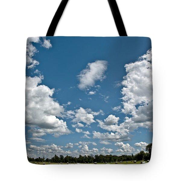 Big Sky Tote Bag by Cheryl Baxter