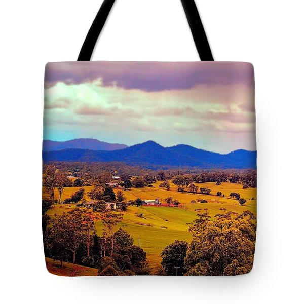 Tote Bag featuring the photograph Big Sky Country by Wallaroo Images