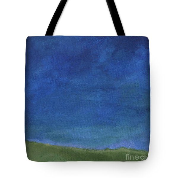 Big Sky Tote Bag by Linda Woods