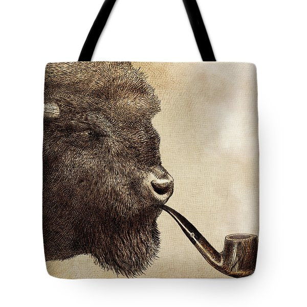 Big Smoke Tote Bag by Eric Fan