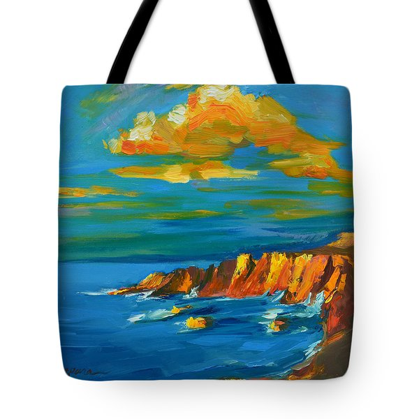 Big Sur At The West Coast Of California Tote Bag