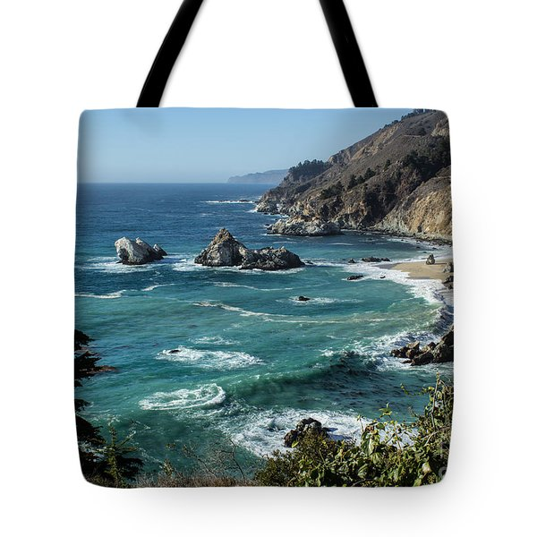Big Sur Coast From Julia Pfeiffer Burns Tote Bag