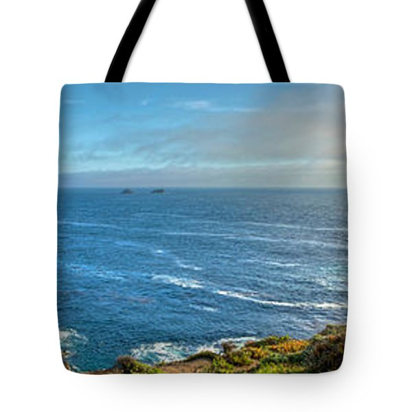 Big Sur Coast Pano 2 Tote Bag