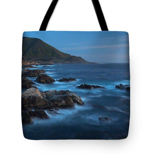 Big Sur Coastline Tote Bag by Mike Reid