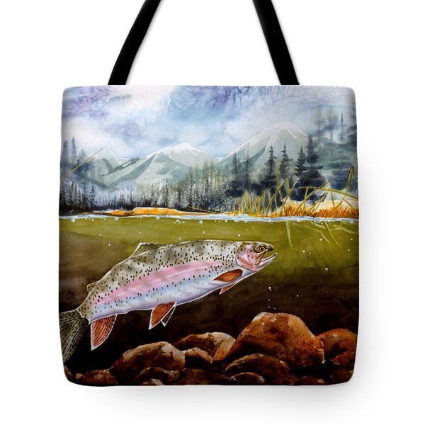Big Thompson Trout Tote Bag