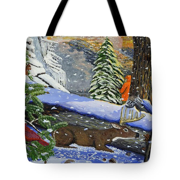 Big Timber Buck Tote Bag