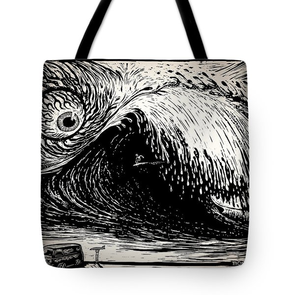 Big Wave Tote Bag