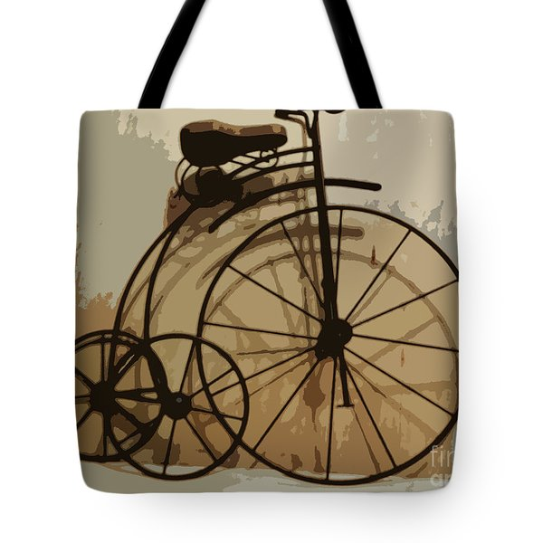 Big Wheel Trike Tote Bag