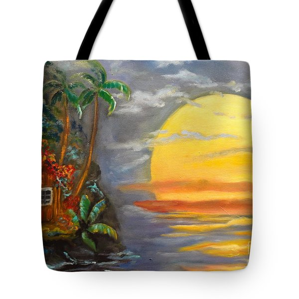 Magical Sunser Jenny Lee Discount Tote Bag