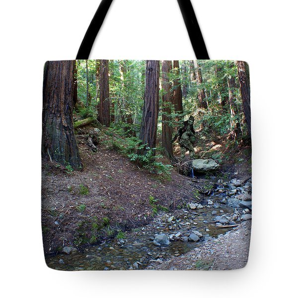 Bigfoot On Mt. Tamalpais Tote Bag
