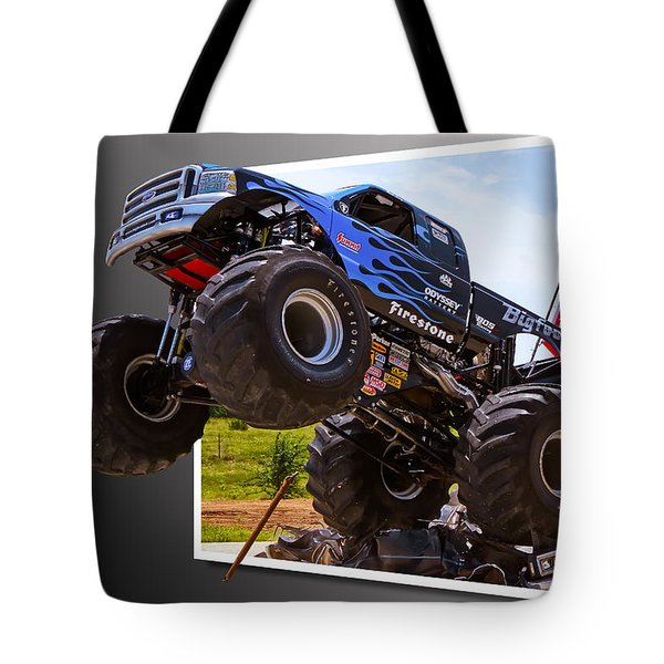 Bigfoot Out Of Frame Tote Bag