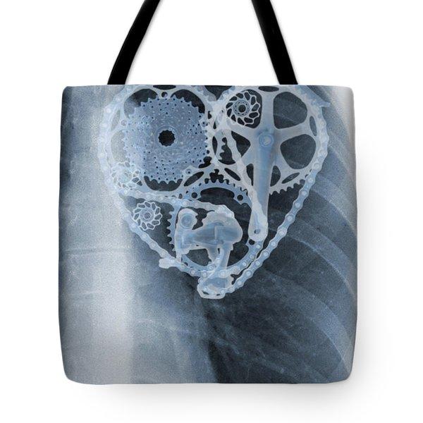 bike lover X-ray Tote Bag