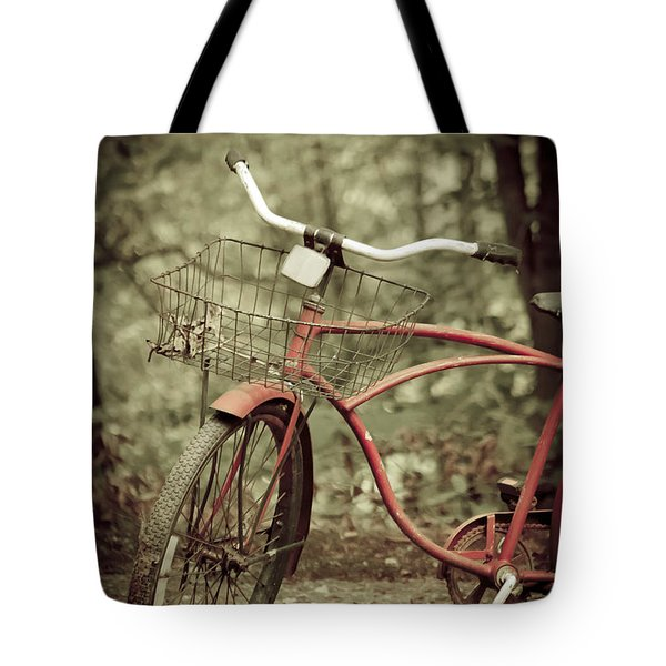 Bike Tote Bag by Shane Holsclaw
