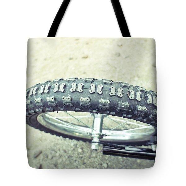 Bike Tyre Tote Bag