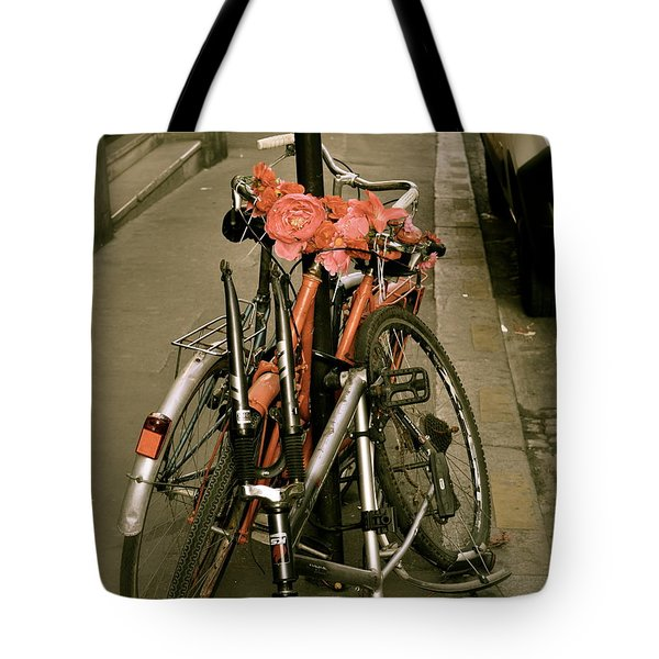 Bikes In Italy Tote Bag