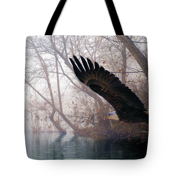 Bilbow's Eagle Tote Bag by Bill Stephens