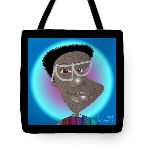 Bill Cosby Tote Bag by Iris Gelbart