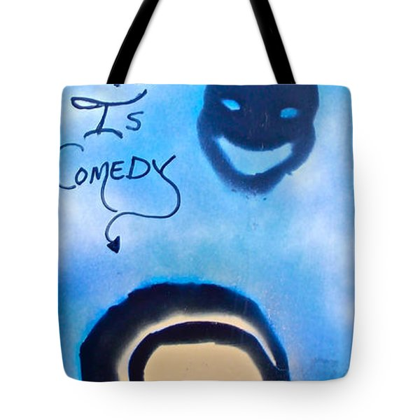 Bill Cosby Tote Bag by Tony B Conscious