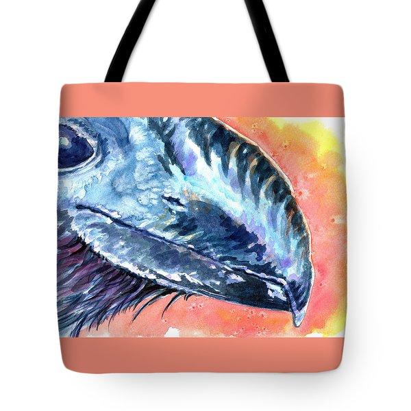 Bill Of Ani Tote Bag by Ashley Kujan