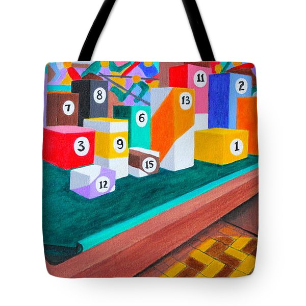 Billiard Table Tote Bag by Lorna Maza